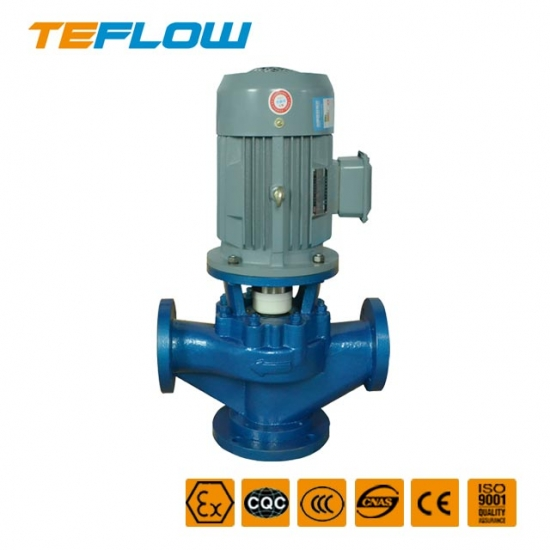 GDF Fluoroplastic Vertical Pipe pump